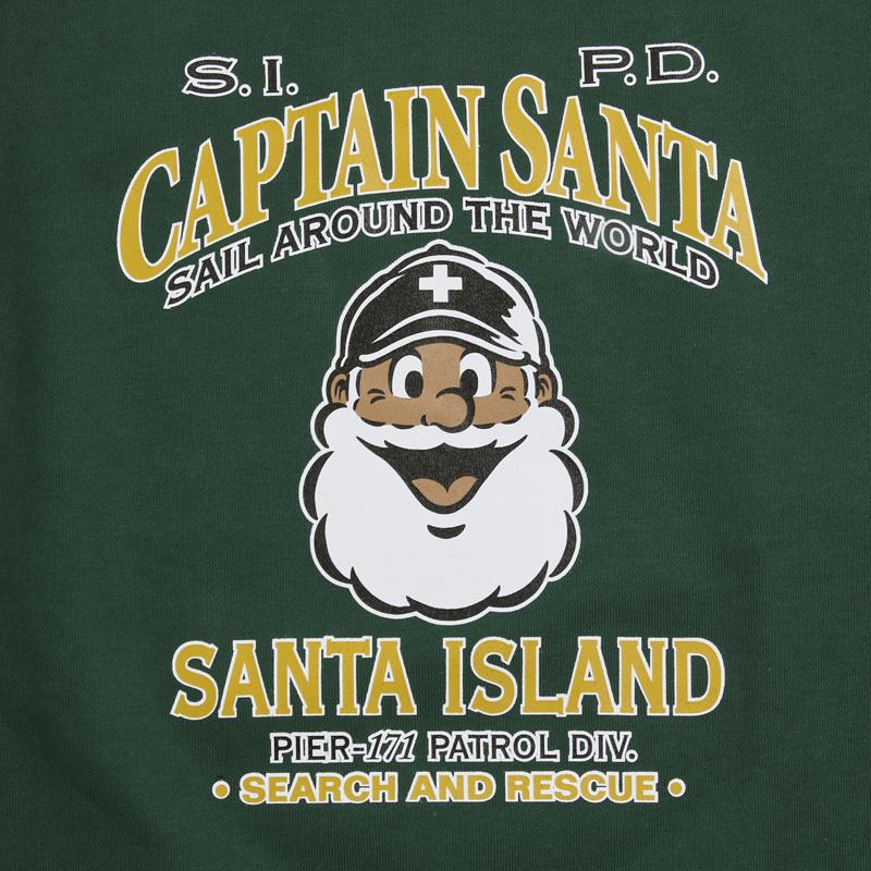 《キャプテンサンタ》SANTA ISLAND 正面顔トレーナー