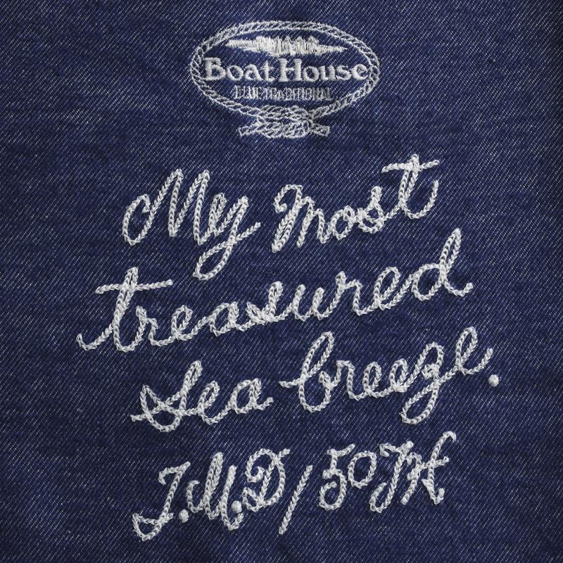 《ボートハウス》BHネルストレッチPOL/SBDシャツ