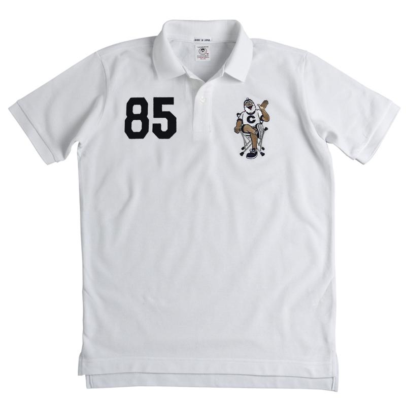 【WEB限定・予約商品】CAPTAIN SANTAオーダーカノコポロシャツ《チェア柄》