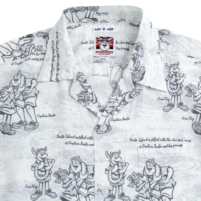 《キャプテンサンタ》サンタアイランドアロハシャツ