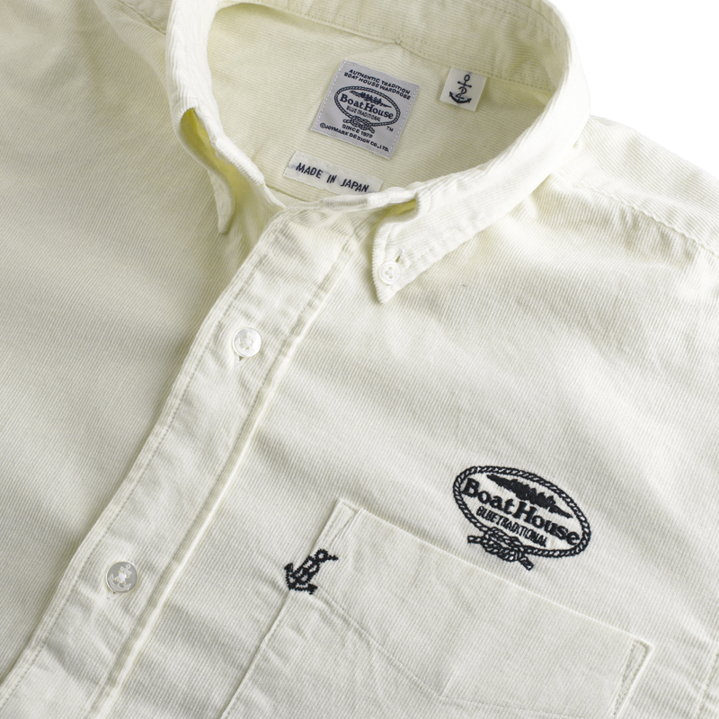 《ボートハウス》BHコーデュロイL/SBDシャツ