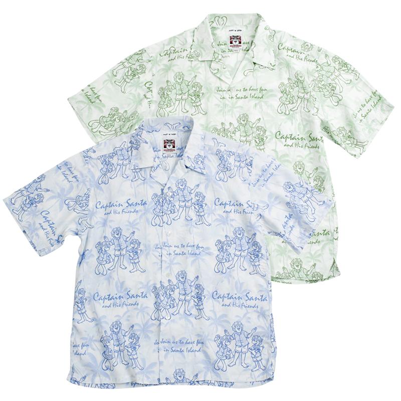 《キャプテンサンタ》CSパームツリーアロハシャツ