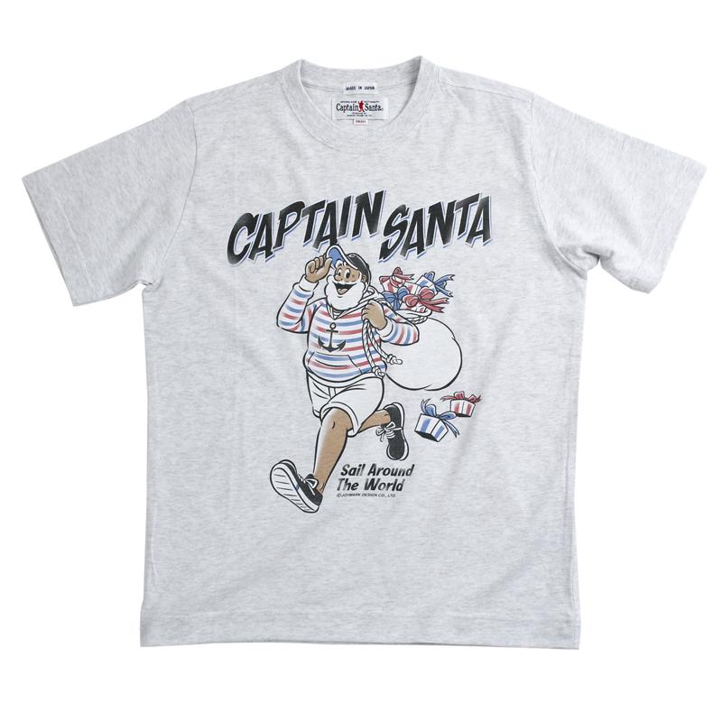 《キャプテンサンタ》プレゼントサンタTシャツ