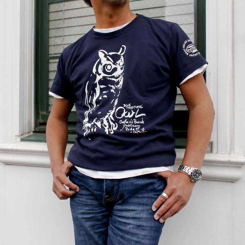 《ボートハウス》BH OWL Tシャツ