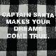 《キャプテンサンタ》メルトンチェックジャンパー