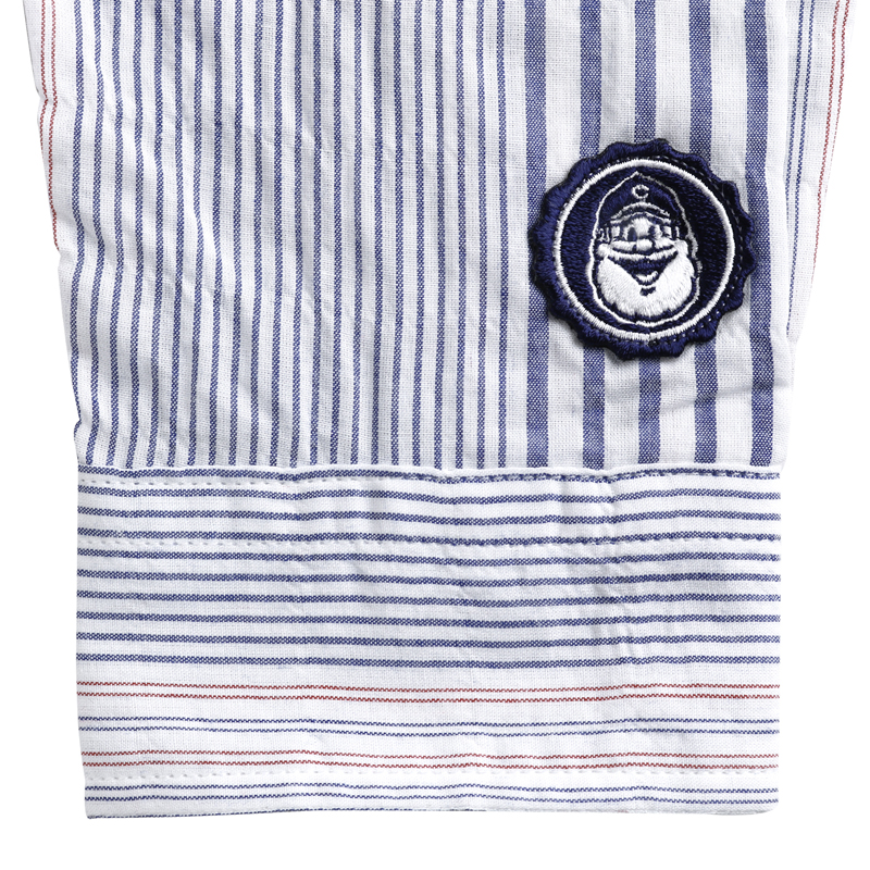 《キャプテンサンタ》CS ストライプL/Sシャツ