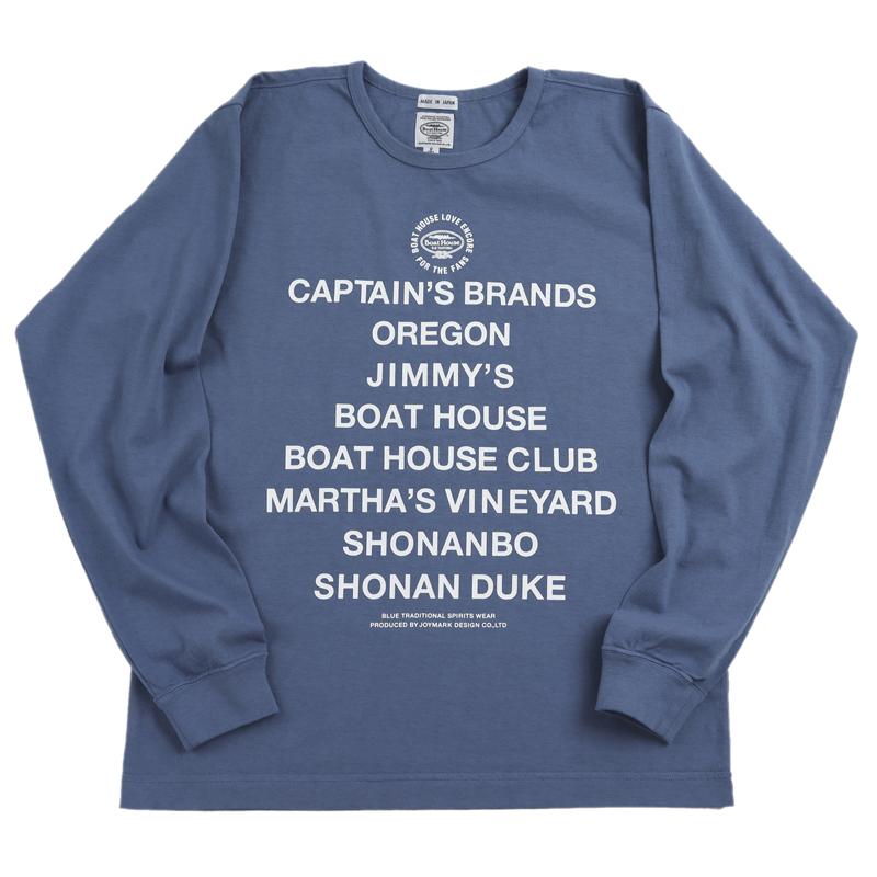 《ボートハウス》1979クルーネックL/S Tシャツ