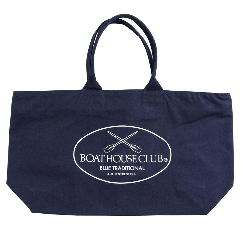 《ボートハウスクラブ》BOAT HOUSE CLUB ZIPトートバッグ