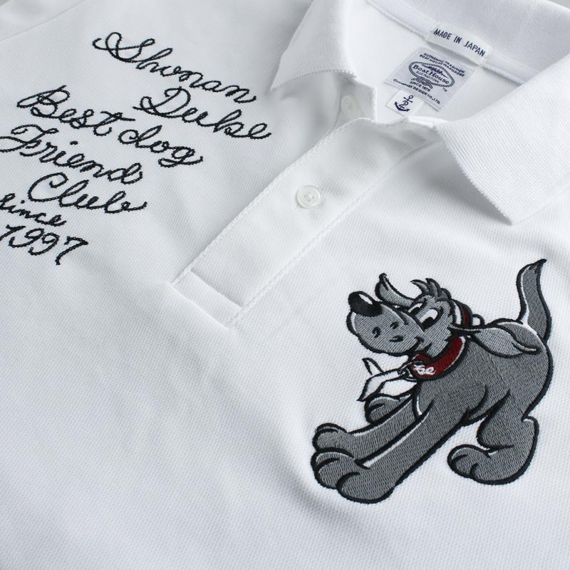 《ショーナンデューク》DUKE リョウムネシシュウハニカムカノコポロシャツ