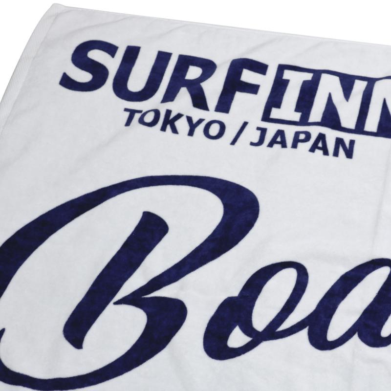 《ボートハウスカフェ》BH CAFE+SURFINN BATH TOWEL