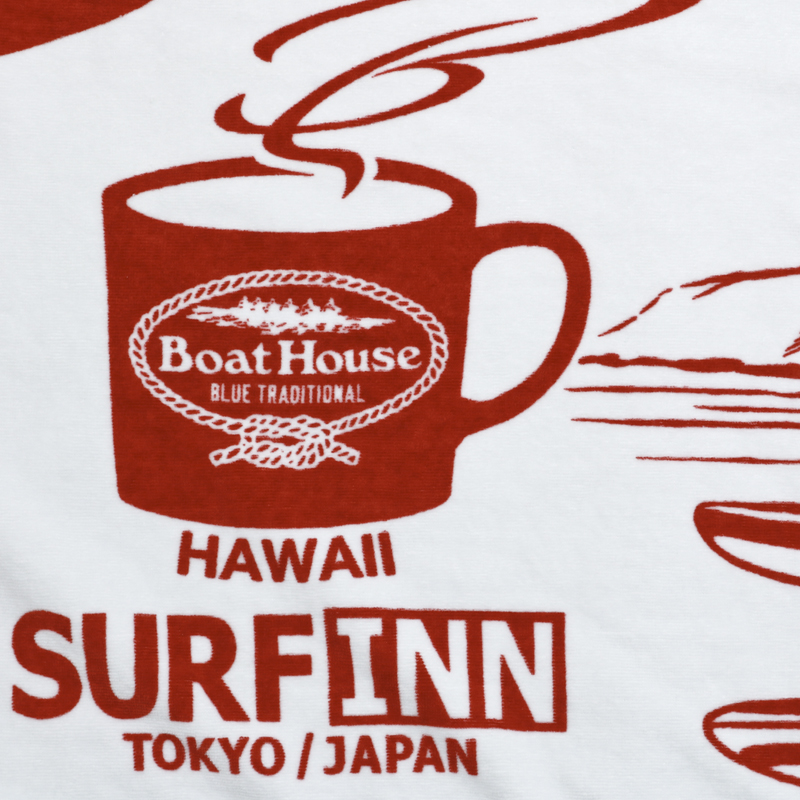 《ボートハウスカフェ》CS+BH CAFE+SURFINN BATH TOWEL