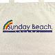 《サンデービーチ》ハーフレインボートートバッグ