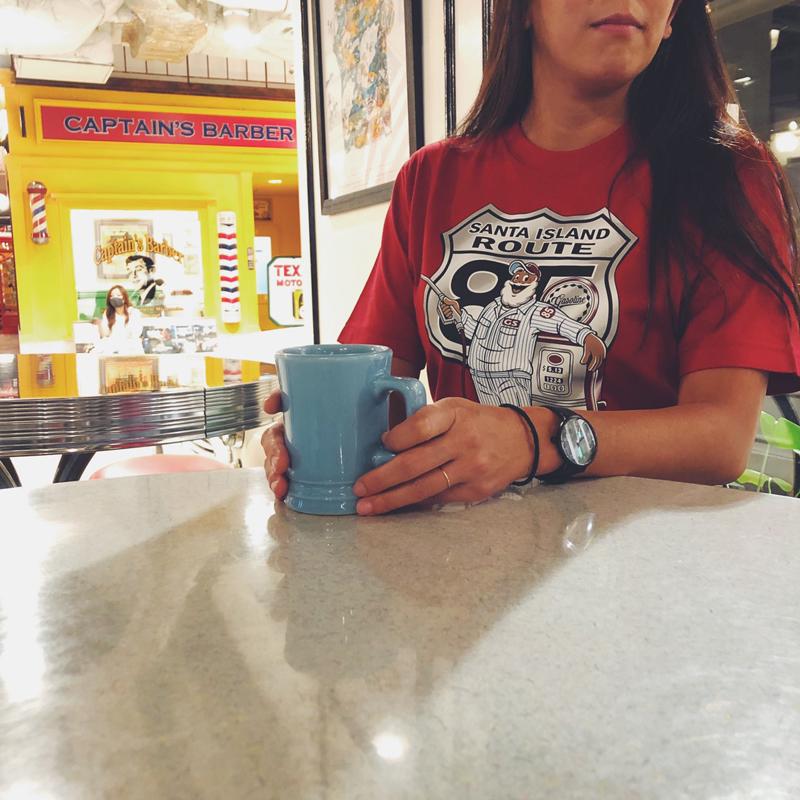 《キャプテンサンタ》SANTA ISLAND ROUTE85 Tシャツ