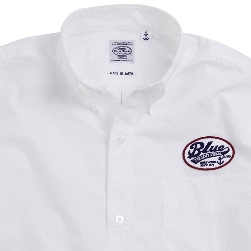 《ボートハウス》BHワッペンL/S BDシャツ