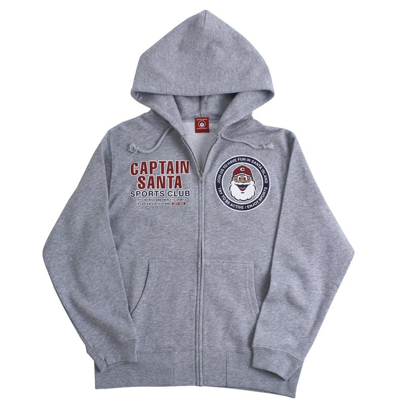《キャプテンサンタ》CSSCフロントジップパーカ