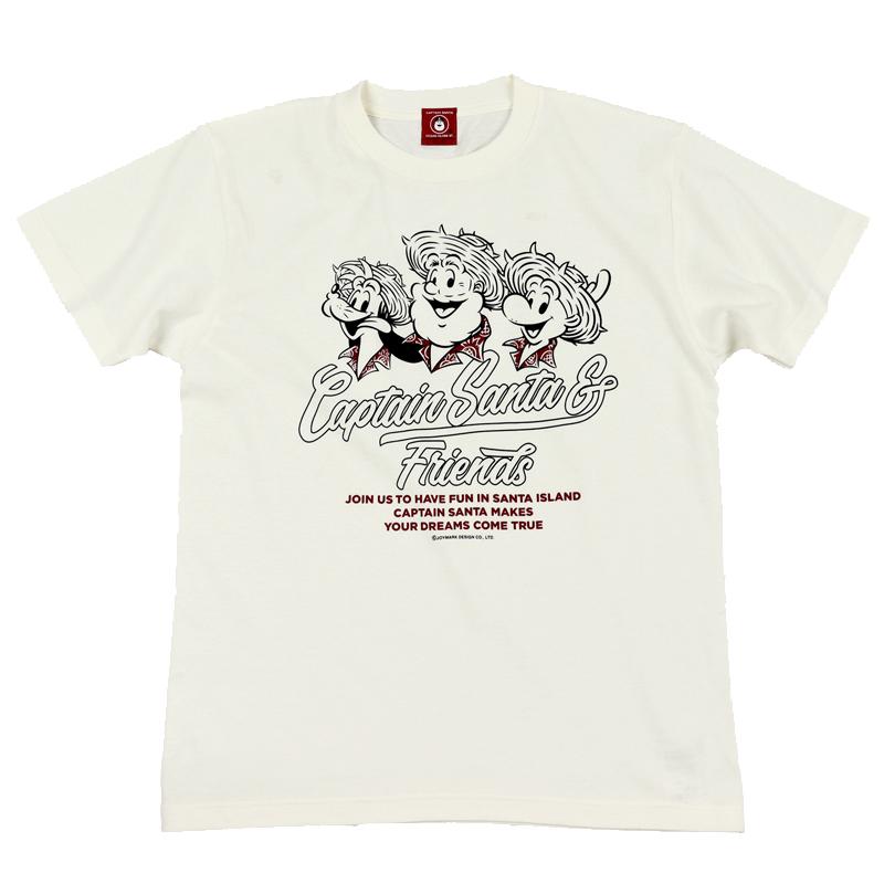 《キャプテンサンタ》FRIENDS Tシャツ
