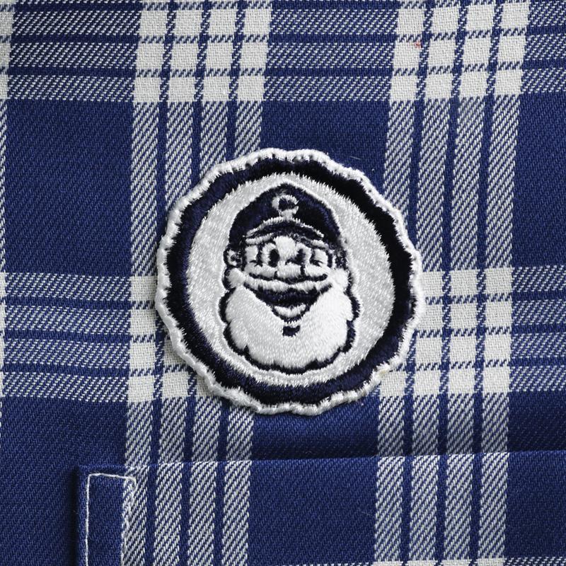 《キャプテンサンタ》CSパラカチェックL/SBDシャツ