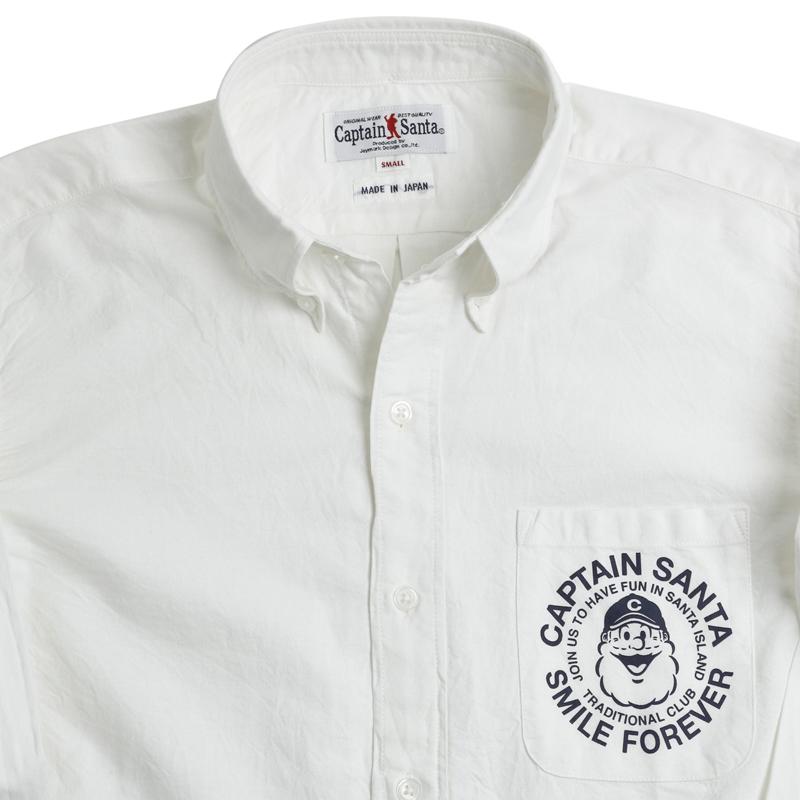 《キャプテンサンタ》CS美濃和紙L/SBDシャツ