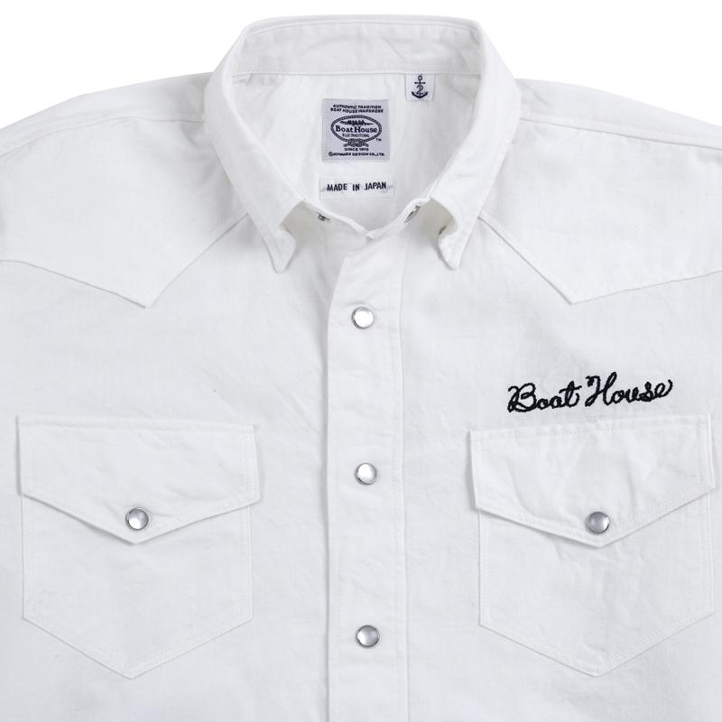 《ボートハウス》BHダンガリーウェスタンシャツ