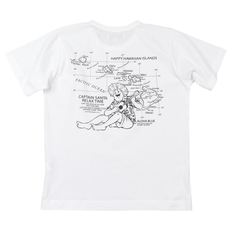 《キャプテンサンタ》HAWAIIAN ISLAND Tシャツ