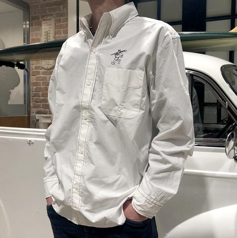 《キャプテンサンタ》CS太ステッチL/SBDシャツ