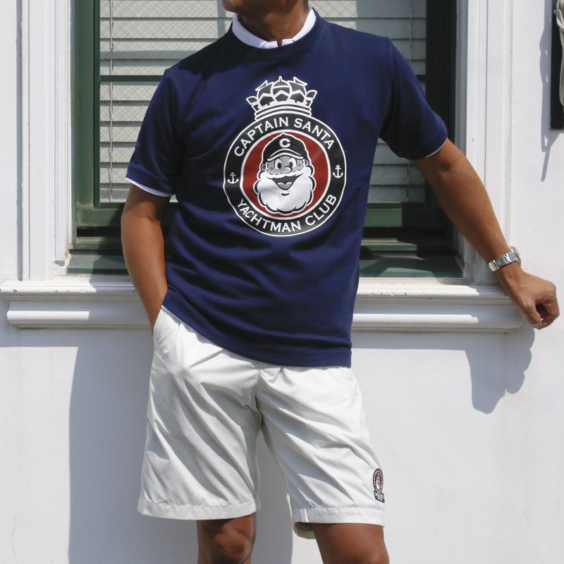 《キャプテンサンタ》YACHTMAN CLUB Tシャツ
