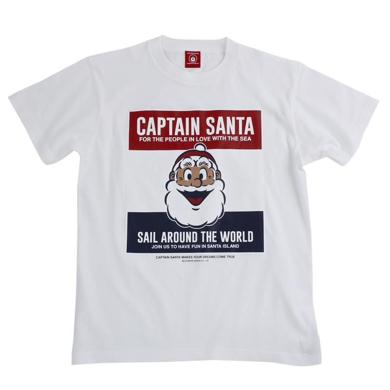 《キャプテンサンタ》CSトリコ正面顔Tシャツ【大人】