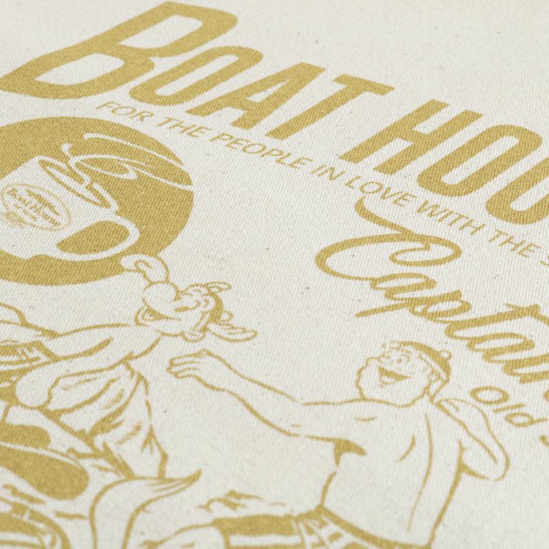 《ボートハウスカフェ》CS+BOAT HOUSE CAFE TOTE BAG