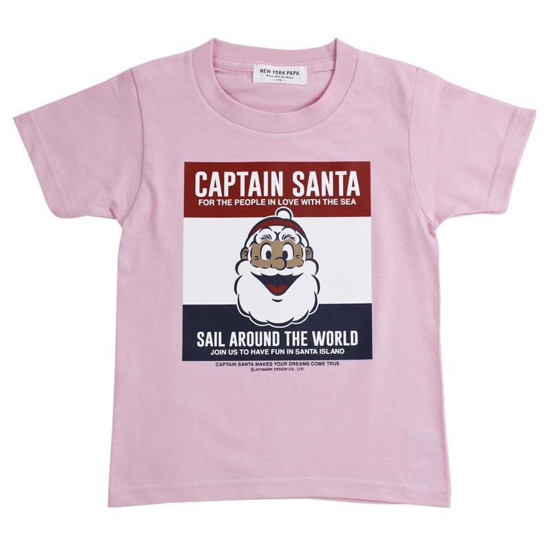 《キャプテンサンタ》CSトリコ正面顔Tシャツ【KIDSサイズ】