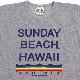 《サンデービーチ》レインボーウエーブTシャツ