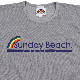 《サンデービーチ》ハーフレインボーTシャツ