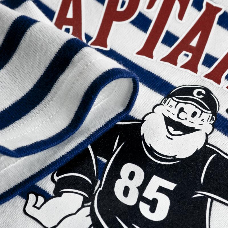《キャプテンサンタ》CS ボーダーボートネックL/STシャツ