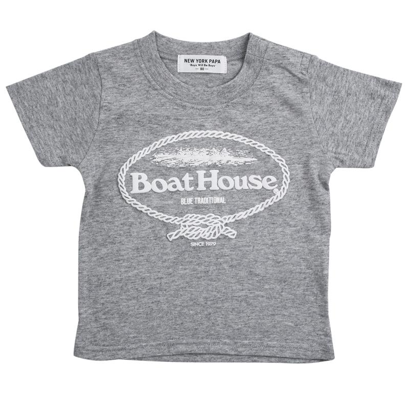 《ボートハウス》ボートハウスTシャツ【BABYサイズ】
