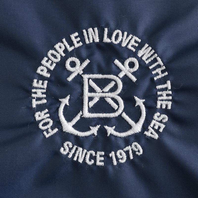 《ボートハウス》BH ナイロンスイングトップ