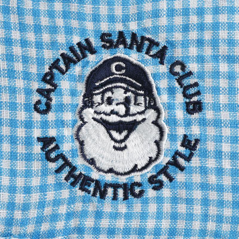《キャプテンサンタ》CS フレンチリネンL/SBDシャツ