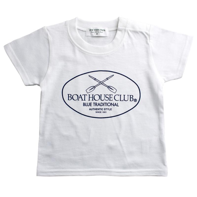 《ボートハウスクラブ》ボートハウスクラブTシャツ【BABYサイズ】