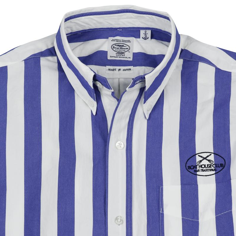 《ボートハウス》ボールドストライプL/SBDシャツ