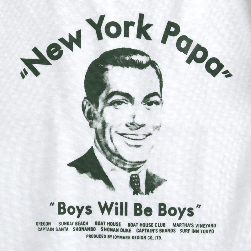 《ニューヨークパパ》NEW YORK PAPA Tシャツ【KIDSサイズ】