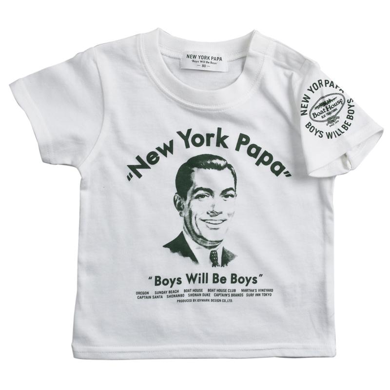 《ニューヨークパパ》NEW YORK PAPA Tシャツ【BABYサイズ】
