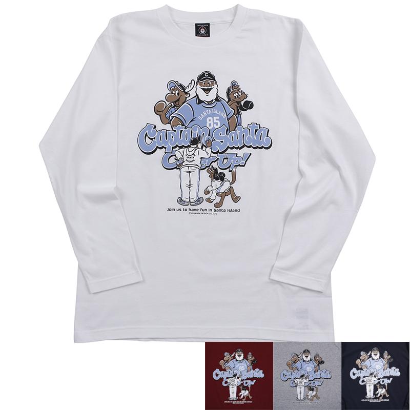 《キャプテンサンタ》CSロングスリーブTシャツNO.1