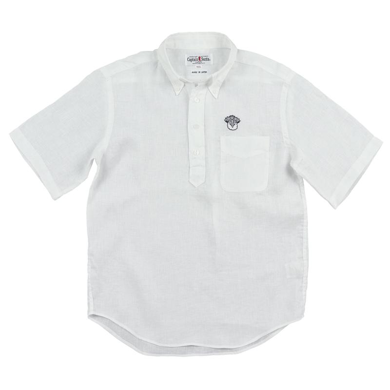 《キャプテンサンタ》リネンシャンブレーPOS/SBDシャツ