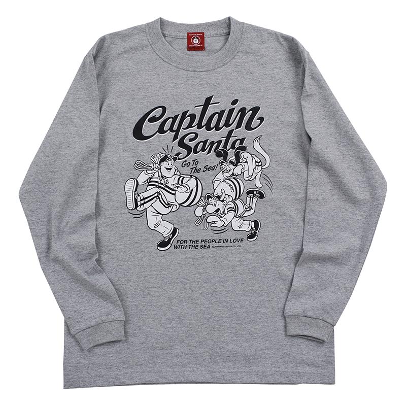 《キャプテンサンタ》CSロングスリーブTシャツNO.3