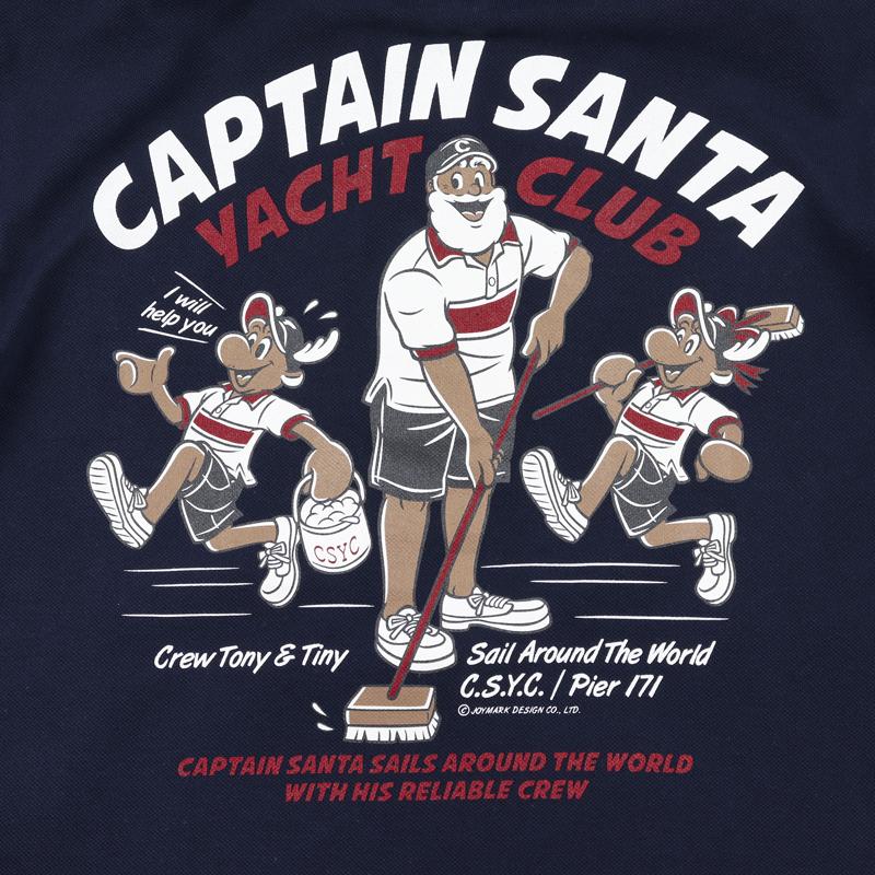《キャプテンサンタ》ヨットクラブカノコポロシャツ