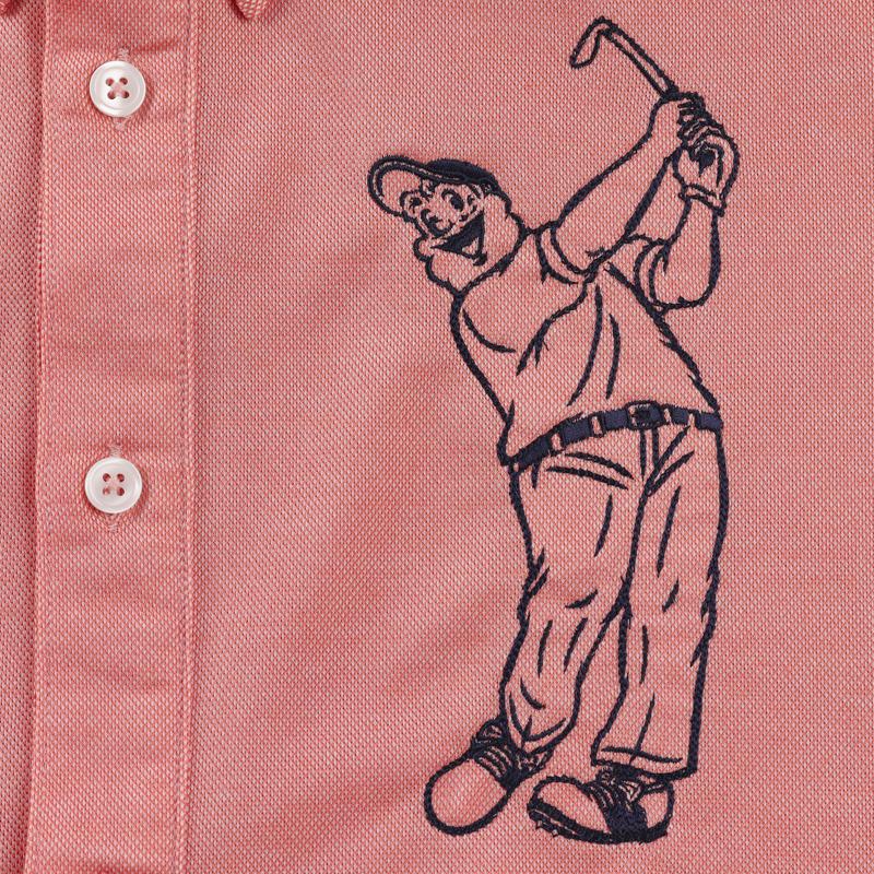 《キャプテンサンタ》CSGCアロフトカノコBDシャツ