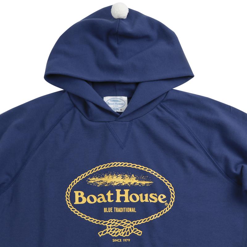《ボートハウス》BOAT HOUSE S/S スウェットパーカ【ミニ裏毛】#2