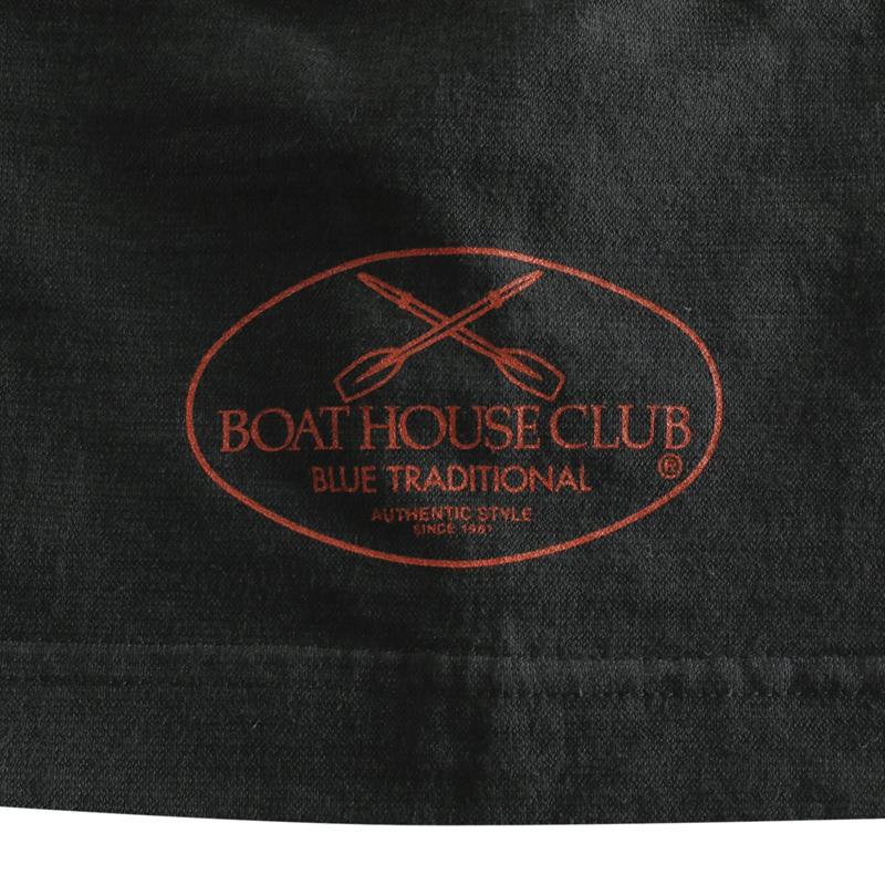 《ボートハウスクラブ》後染めスラブ天竺BHCオールTシャツ