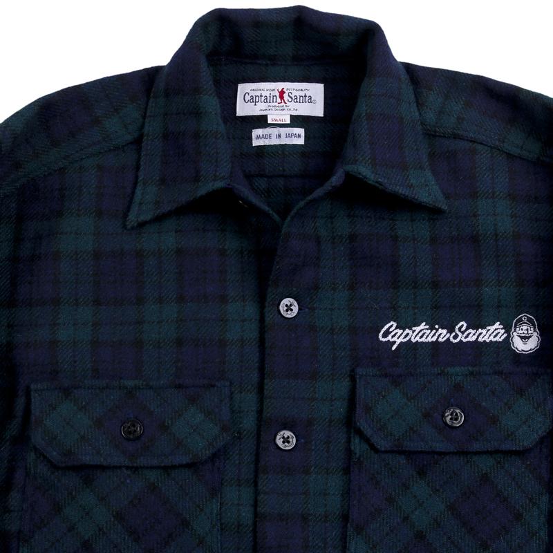 《キャプテンサンタ》CPOシャツジャケット