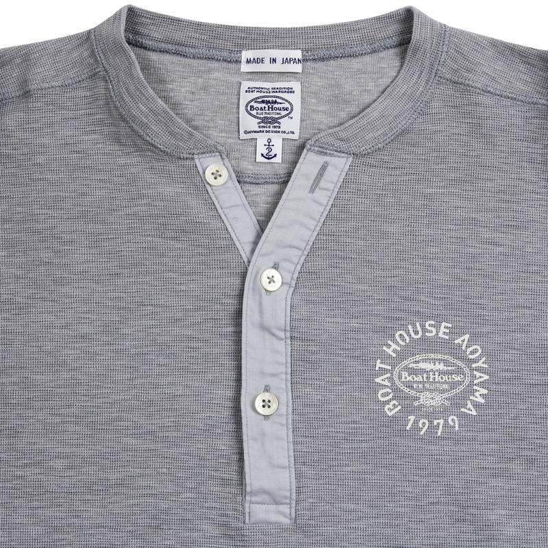 《ボートハウス》ヘンリーネックL/S Tシャツ
