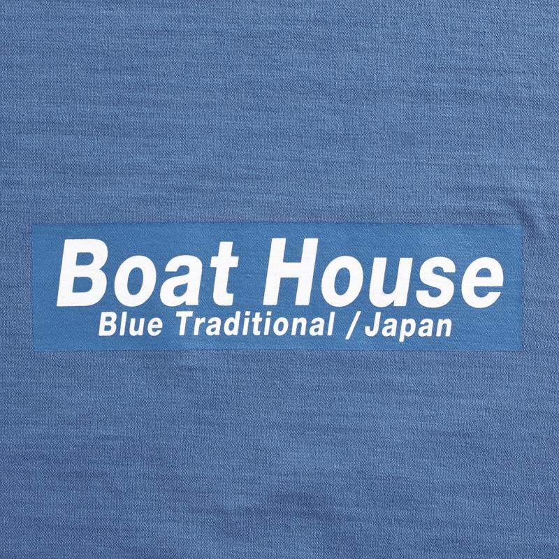 《ボートハウス》後染めBOAT HOUSE LOGO Tシャツ