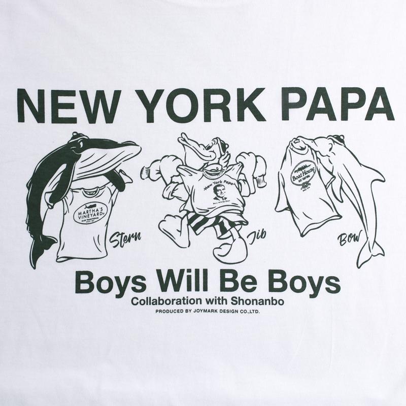 《ニューヨークパパ》SBキャラクターTシャツ